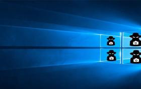 Windows 10 nesleduje