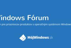 Windows Forum titulka