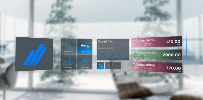 Tatra banka HoloLens