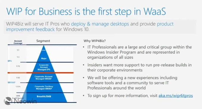 Windows Insider Program for Business