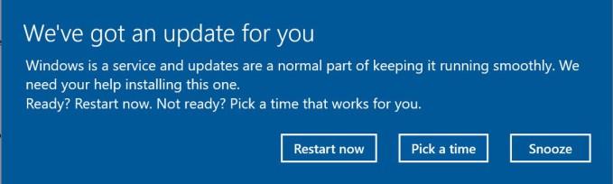 Windows 10 Aktualizacie