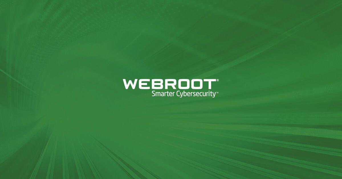 Antispyware antivirus endpointbescherming en   Webroot
