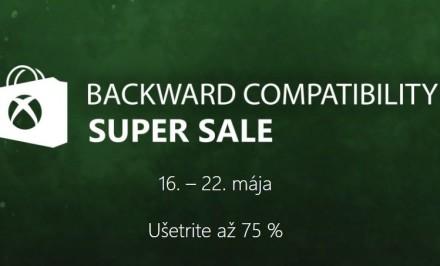 výpredaj spätne kompatibilných hier