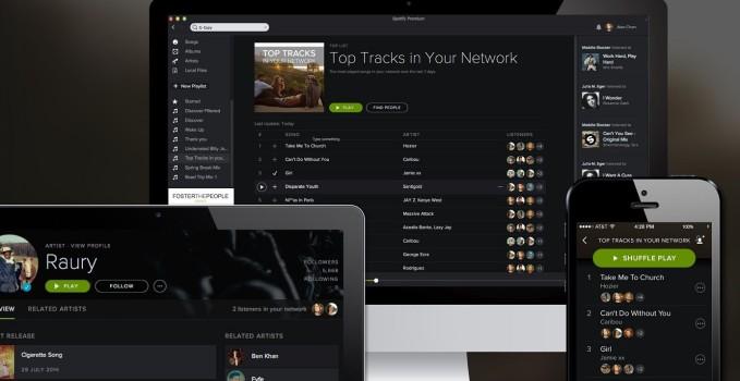 Spotify obnovenie systemu