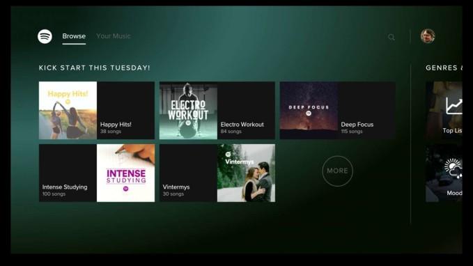 Spotify Xbox One 4