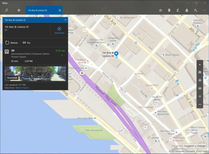 Windows Mapy MHD
