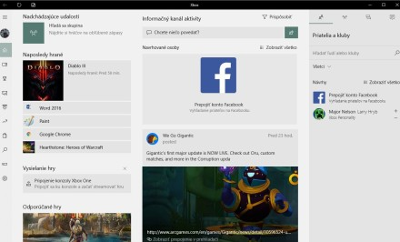 Xbox aplikácia