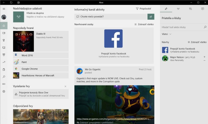 Xbox Aplikacia Svetla tema