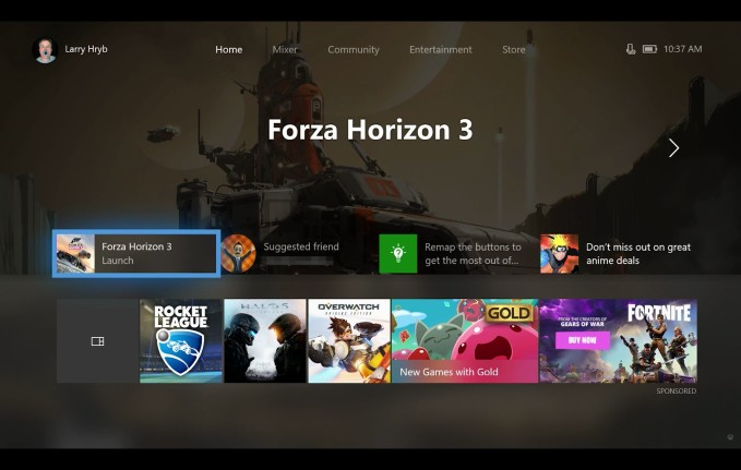 Xbox One FCU