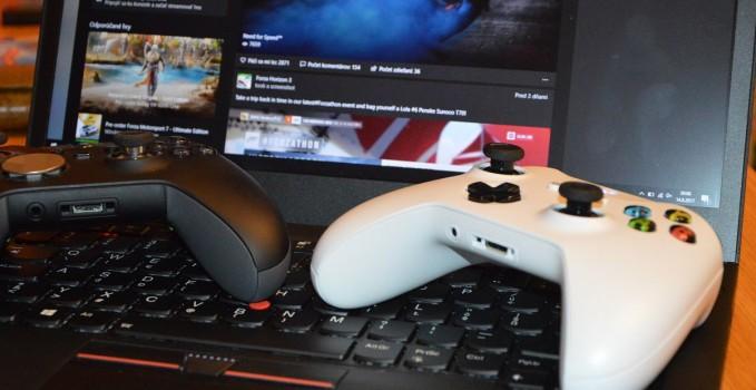 Ako pripojiť gamepad Xbox One