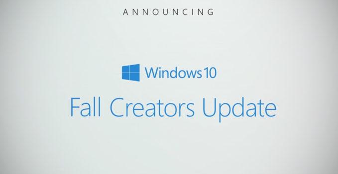 Fall Creators Update RTM