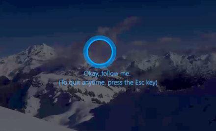 Cortana Folow Me