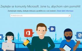 Microsoft komunita